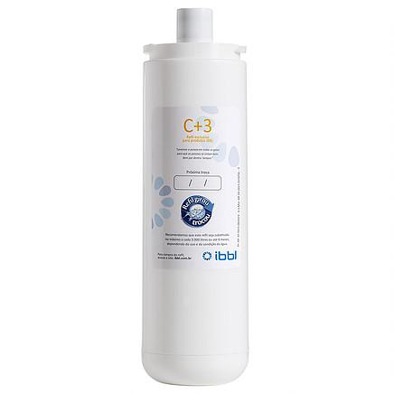 Filtro Refil Para Purificador de água C+3 IBBL