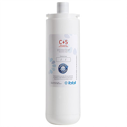 Filtro Refil Para Purificador de água C+5 IBBL